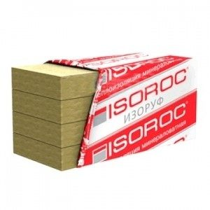 Утеплитель жесткий Изорок изоруф Н 1000х600х50мм 130кг/м3