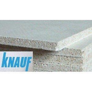 ГВЛВ Кнауф Суперлист влагостойкий 2500х1200х10мм (Knauf) прямая кромка