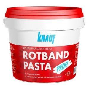 Шпаклевка финишная Knauf Ротбанд Паста 18кг