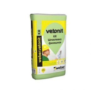 Шпатлевка Ветонит Weber Vetonit KR 20 кг