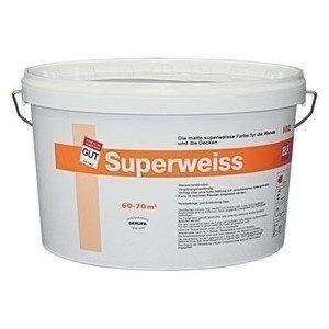 Краска матовая дисперсионная СуперВайз - SuperWeiss 40кг
