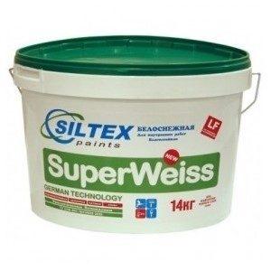 Краска матовая дисперсионная СуперВайз - SuperWeiss 14кг