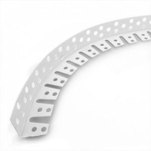Уголок штукатурный ПВХ арочный L=3м X-Glass
