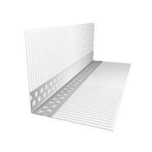 Уголок штукатурный ПВХ с сеткой L=2.5м X-Glass