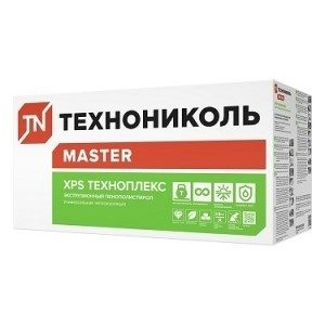 Пенополистирол экструзионный TECHNOPLEX 1180х580х50мм Технониколь