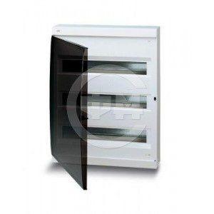 Шкаф АВВ для скрытой установки на 36(42) модулей прозрачная дверь