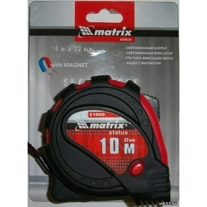 Рулетка Matrix 10м х 25мм 31061