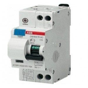 Автомат ABB дифференциальный DSH941R 1PplusN 10A