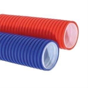 Труба двухстенная ф 110 красная «Насхорн» 50м