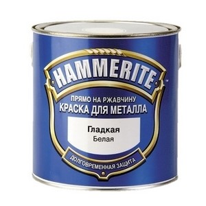 Краска по металлу Хамерайт (Hammerite) белая