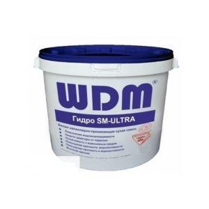 Белая каппилярно-проникающая гидро-смесь WDM Гидро SM-ULTRA (20кг)
