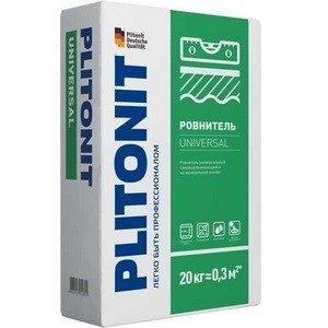 Наливной пол Plitonit Universal влагостойкий 20кг