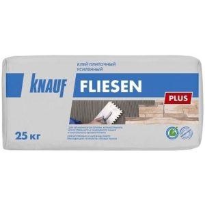 Клей плиточный Кнауф Флизен плюс 25 кг