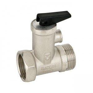 Предохранительный клапан BUGATTI (IL) для водонагревателей 1/2 (120/30) серия 200