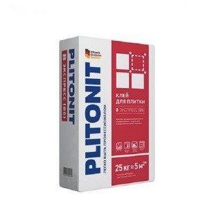 Плиточный клей ПЛИТОНИТ экспресс В 25кг