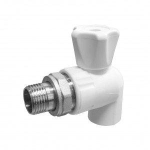 Кран шаровой Valfex (Вальфекс) 25х3/4 (40/10) для радиатора угловой