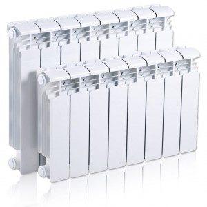 Радиатор алюминиевый Rifar 350 4 секций