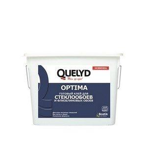 Клей Quelyd Optima для стеклообоев 15л готовый