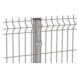 Забор 3Д металлический Ф3/4мм панель 1730х2500мм оцинкованный 3P