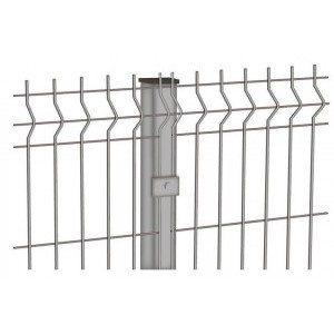 Забор 3Д металлический Ф3/4мм панель 1530х2500мм  оцинкованная 3Р
