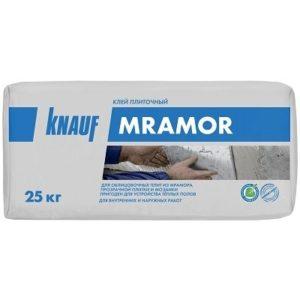 Клей плиточный КНАУФ Мрамор белый 25 кг