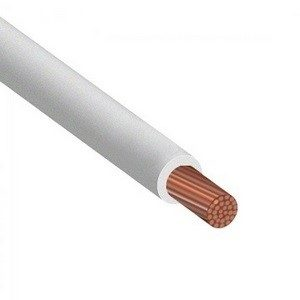 ПВ3 белый провод установочный ПуГВ 1х4