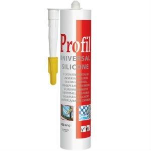 Герметик силиконовый Profil Universal Silicone 280мл белый