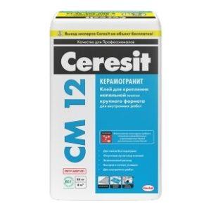 Клей для плитки Церезит CM12 усиленной фиксацией 25кг