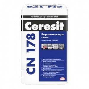 Ровнитель пола Церезит CN 178 стяжка 25 кг
