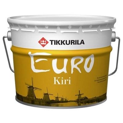 Тиккурила ЕВРО КИРИ 9л (1)  Лак паркетный глянцевый