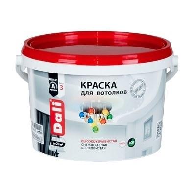 Краска DALI водно-дисперсионные для потолка 2