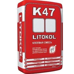 Плиточный клей K47 LITOKOL 25кг