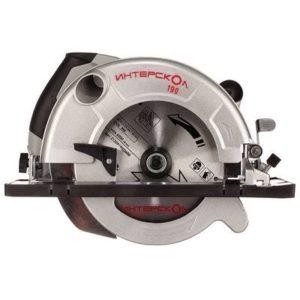 Интерскол дисковая пила ДП-190/1600М
