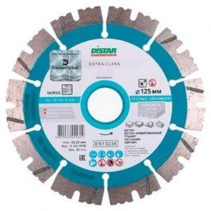 Дистар диск алмазный 1A1RSS/C3-H 230х2