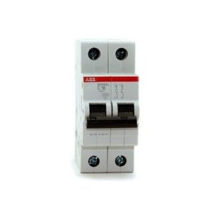 Автомат АВВ 2-полюсный SH202L 45кА