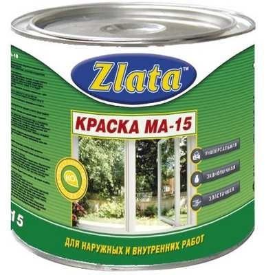 Краска масляная Zlata МА-15 2