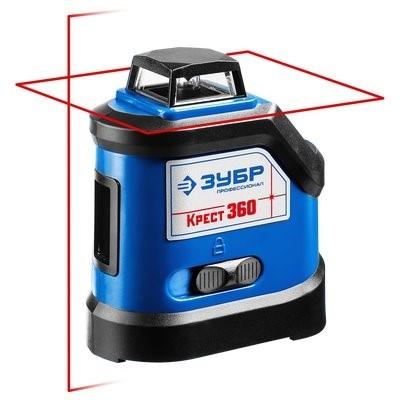 Нивелир лазерный 360° 20м70м ЗУБР точн-03 ммм