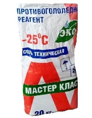 Противоморозная добавка солевая на основе поташа (сухая) 20кг