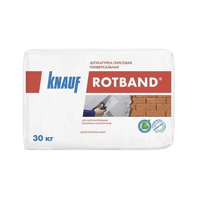 Штукатурка «Ротбанд» от KNAUF