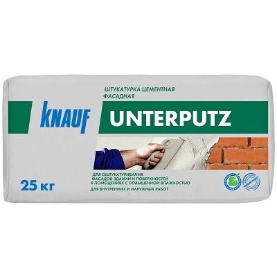 Штукатурка «Унтерпутц» от «КНАУФ»