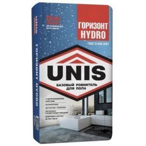 Стяжка Юнис Горизонт 25кг Hydro