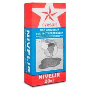 Наливной Пол Nivelir Русеан (Нивелир) 20кг